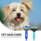 2 In 1 Dual Head Dog Comb Cleaning Grooming Brush Deshedding Tool For Long Hair