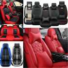Luxury 5-Sits Car Seat Cover Top Leather Cushion Interior For Toyota Honda Lexus $107.88 USD on eBay