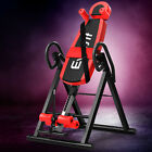 Inversion Table Gravity Stretcher Tables Foldable Back Pain Relief Inverter Gym