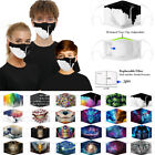 Women Men Kids 3d Fun Mouth Mark Fabric Facemask Washable Hip Hop Party Magic