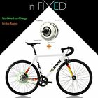 "nFIXED.com ""Electric Vigorelli"" No-Need-to-Charge e-BIKE+"
