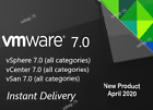 VMware 7 ESXi / vSphere 7 / vCenter 7 / vSan 7 /All Products/ 30 SECS DELIVERY