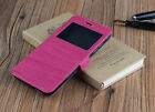 Cover Case Book Window Archos Diamond S Touch Wood Small Window