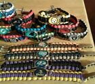 NFL Football Paracord Bracelet Survival Wristband MilitarySpec550 ZincAlloy Logo $9.1 USD on eBay