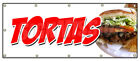 TORTAS  BANNER SIGN flatbread sweet cake mexican mexico sandwich grill