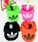 Внешний вид - Hooded Sweatshirt Dog Cat Clothes Warm Hoodie Coat Jacket NEW SMALL Dogs or Cats