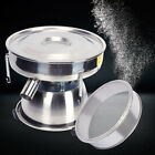 8CM Electric Vibrating Sieve Auto Sifter Shaking Machine f/ Powder Particle FDA