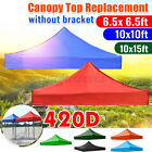 10x15ft Gazebo Top Canopy Replacement Patio Pavilion Sunshade Waterproof