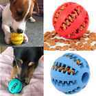 Dog Toys Stretch Rubber Leaking Ball Cat Dog Chew Toys Tooth Cleaning Balls~jp