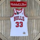 Mitchell & Ness Scottie Pippen NBA Swingman Jersey Chicago Bulls 1997 White on eBay