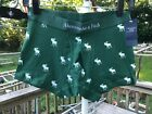 Abercrombie & Fitch Mens Underwear Trunk GREEN Icon Size CHOOSE NWT