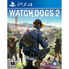Watch Dogs 2 (Sony PlayStation 4, 2016) Free Shipping!