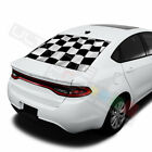 Playing cards designs  Rear Window See Thru Stickers Perforated for Dodge Dart $58.5 USD on eBay