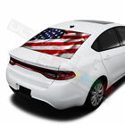 Flags designs  Rear Window See Thru Stickers Perforated for Dodge Dart 2019 2020 $58.5 USD on eBay
