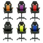 Swivel Pu Leather Mesh Office Racing Sport Gaming Style Tilt Computer Desk Chair