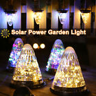 Solar Lights Outdoor Lantern LED Conical Hanging Lamps Table Desk Night Lights