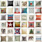 Kyпить Cotton Linen Square Home Decorative Throw Pillow Case Sofa Waist Cushion Cover на еВаy.соm