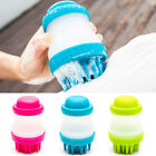 Silicone Massage Brush Pet Cleaning Supply Dog Bath Shower Comb Grooming brush