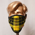 Family Pack of 5 Units Macleod Dress Tartan Mask Breathable Two Layer Washable