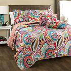 Gypsy 3-Piece Reversible Quilt Set, Bedspread, Coverlet image