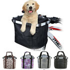 NEW Foldable Bicycle Oxford Fabric Basket Pet Carrier Detachable Travel Bag DIY