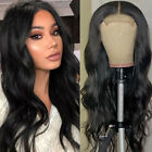 Brazilian Human Hair Wavy 4X4 Lace Closure Wig Body Wave 5x5 PU Silk Base Wigs