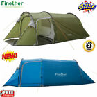 5-person Instant Pop-up Tent Camping Outdoor Family Hiking Shelter Waterproof Us