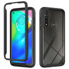For Motorola Moto G Power Shockproof Hybrid Armor Clear Crystyal TPU Case Cover