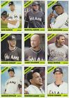 MIAMI MARLINS - PICK YOUR MLB-LICENSED TOPPS/BOWMAN TEAM SET 2012-2020