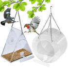 Bird Feeder Bird Cage Garden Decor Accessories Round / Triangle Durable