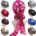 Kyпить Women Grils Satin Silk Bow Headscarf Turban Hijab Sleeping Bonnet Hair Wrap Cap на еВаy.соm