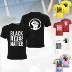 Black Lives Matter T-Shirt Anti Racism Protest Tshirt Justice BLM Unisex Tee image