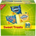 Nabisco Sweet Treats Cookie Variety Pack OREO, OREO Golden & CHIPS AHOY, 30 Snac