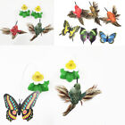 Electric Rotating Butterfly Bird Rod Wire Pet Cat Kitten Teaser Play Toy Hot