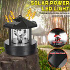 Durable Smoke Towers Led Garden Rotatable Outdoor Solar Light Beacon Decorative