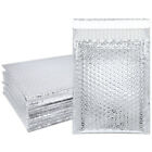 Lightweight Holographic 6x9 Self-Seal Poly Bubble Mailer Silver Envelopes