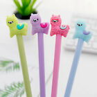 Kawaii Alpaca Black Gel Ink Roller Ball Point Pens School Korean Pen Kids O0m9