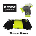 Winter Gloves-Therma Feel Pair of gloves-Hi Tec-Black/Lime-New
