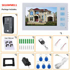 "7"" Video Intercom Doorbell,With Camera+RFID Password+Wireless Remote Access+Card"