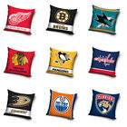 NHL National Hockey League Fan Pillow Cushion Decorative 15 11/16x15 11/16in $23.69 USD on eBay