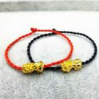 Feng Shui Weaving Rope Wealth Pi Xiu Bracelet Attract Deco Wealth Good Luck B0z6