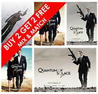 James Bond Quantum of Solace Movie Poster Film Art Print for Home Decor Gift £3.89 GBP on eBay