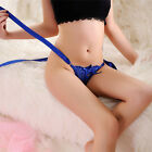Women Sexy Lace G-string Underwear Panties Low Waist Lingerie Intimates Thong Jq