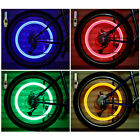Bike Car Wheel Tyre Led Light Bulb Tire Air Valve Stem Screw Cap Lamp Accessory
