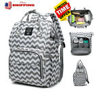 LEQUEEN Large Waterproof Baby Diaper Bag Mummy Maternity Nappy Travel Backpack