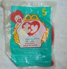 1998 Ty Teenie Beanie Baby #5 Pinchers the Lobster McDonald's Happy Meal Toy