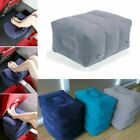 Inflatable Travel Footrest Leg Foot Rest Air Plane Pillow Pad Kids Bed PortCL7
