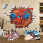 Super Hero Spiderman Ironman Removable Wall Sticker Home Decor Birthday Part