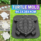 Turtle Stepping Stone Mold Cement Tortoise Garden Path Anti Slip Step Pads Mould image