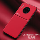 For Huawei Mate 9 20 30 Pro Luxury Magnetic Leather Hybrid Shockproof Back Case